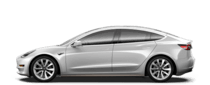Tesla Model 3 EVs
