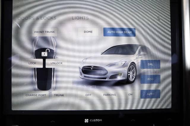 2015 Tesla Model S 5YJSA1H22FFP74505