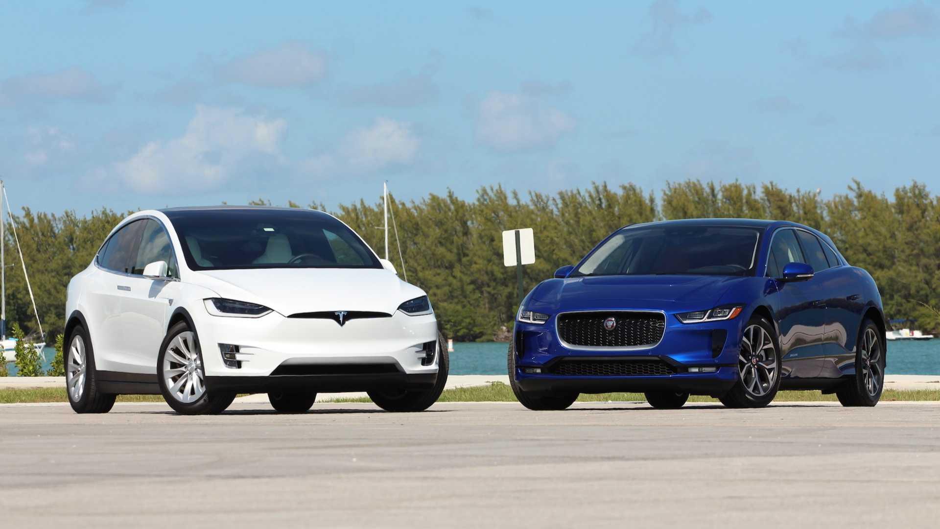 2019 Jaguar I-Pace Vs. 2018 Tesla Model X: Comparison