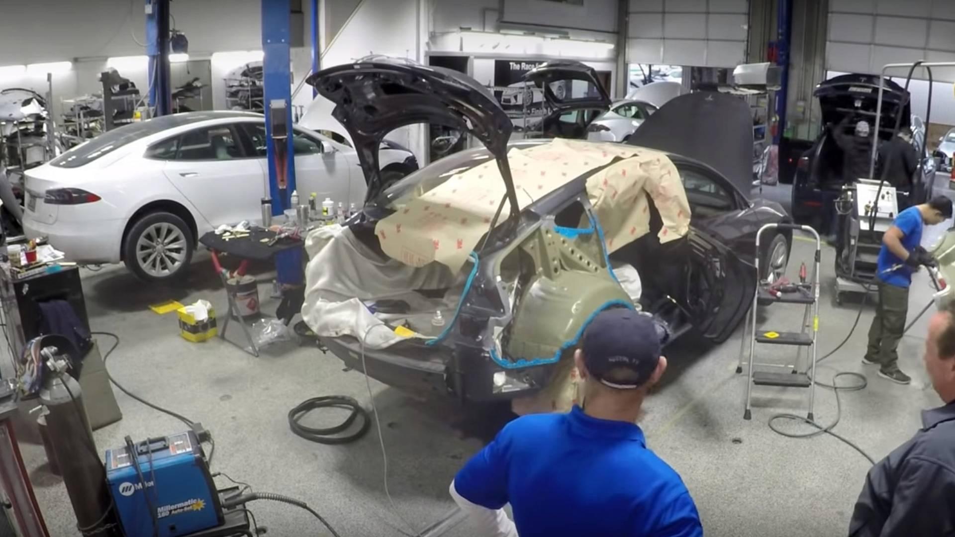 Tesla Model 3 Body Repair