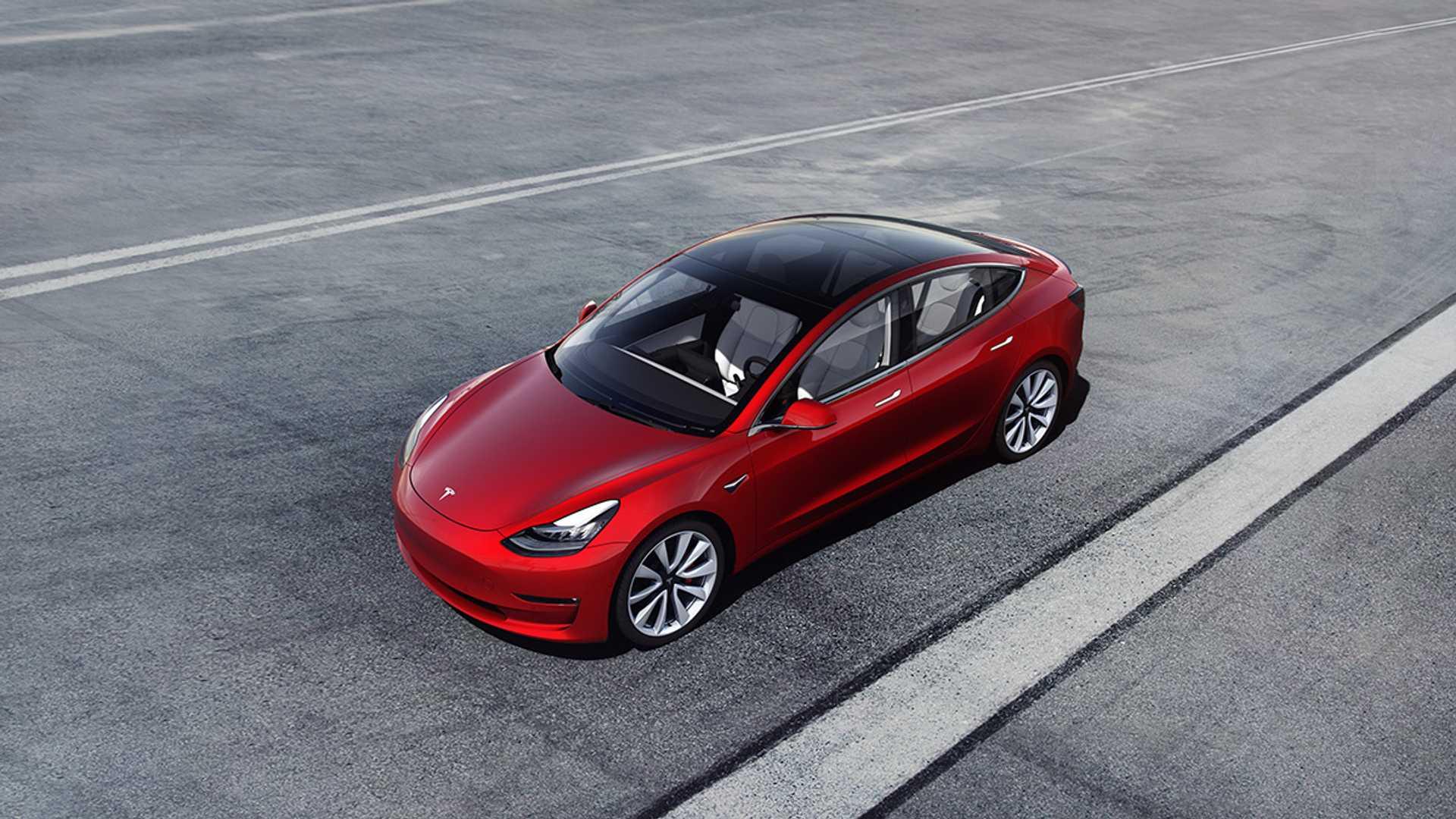 1. Tesla Model 3