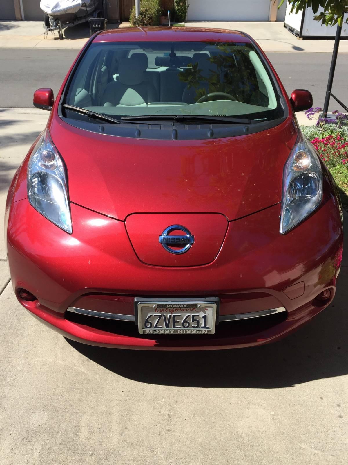 2013 Nissan LEAF 1N4AZ0CPXDC403044