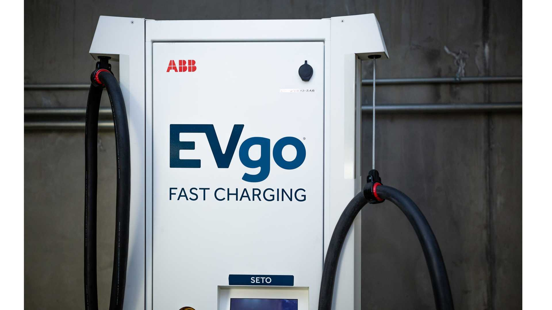 EVgo fast charging station
