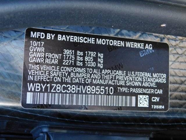 2017 BMW i3 WBY1Z8C38HV895510
