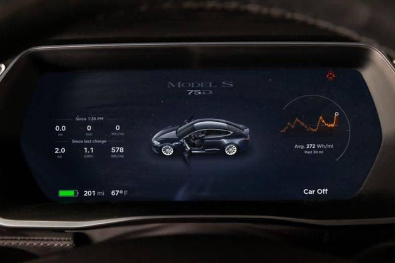 2016 Tesla Model S 5YJSA1E29GF155552