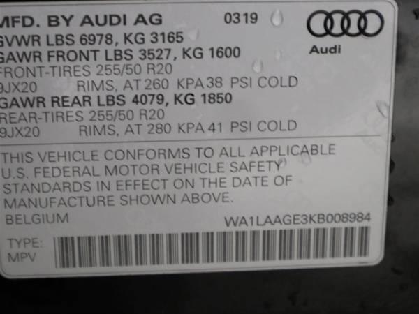 2019 Audi e-tron WA1LAAGE3KB008984