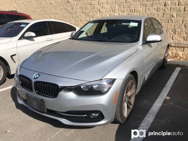 2017 BMW 3 Series WBA8E1C34HA156738