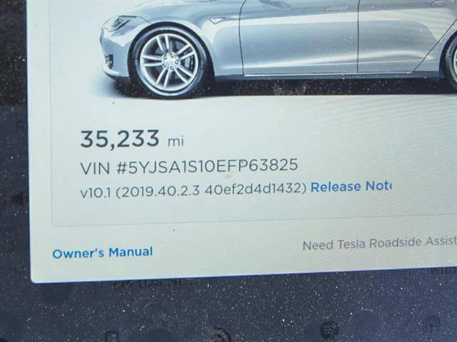 2014 Tesla Model S 5YJSA1S10EFP63825