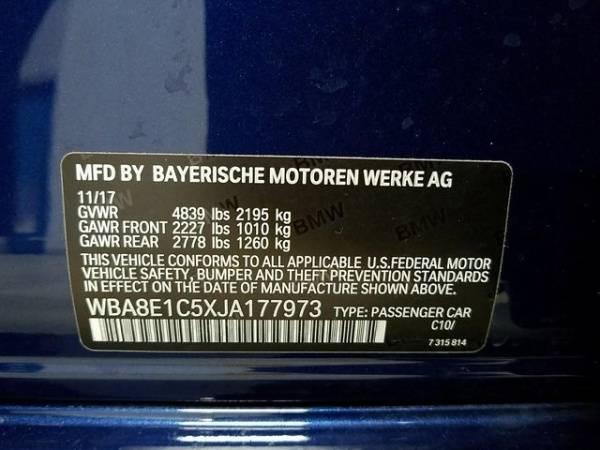 2018 BMW 3 Series WBA8E1C5XJA177973