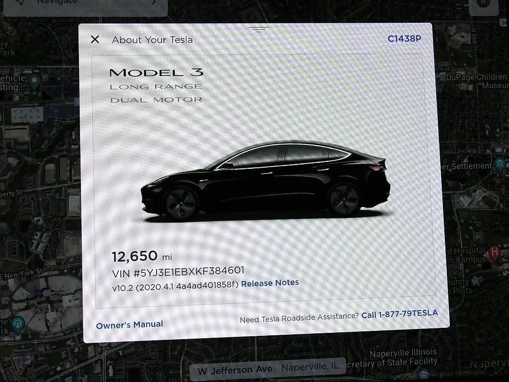 2019 Tesla Model 3 5YJ3E1EBXKF384601