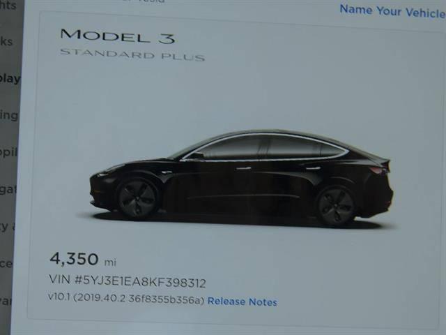 2019 Tesla Model 3 5YJ3E1EA8KF398312
