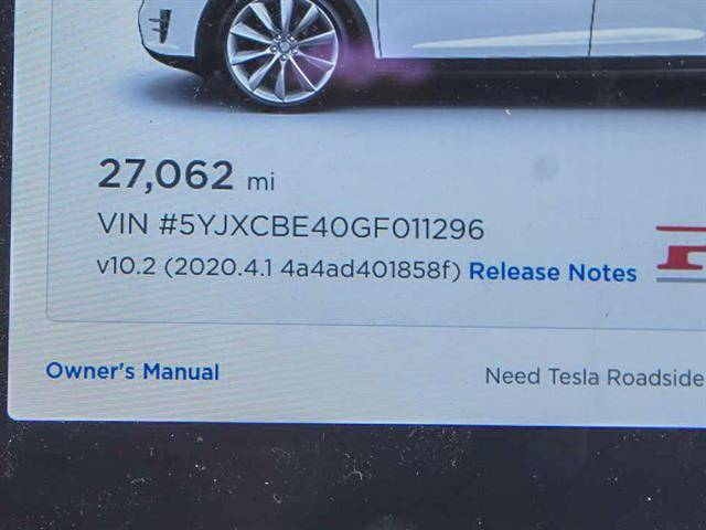 2016 Tesla Model X 5YJXCBE40GF011296