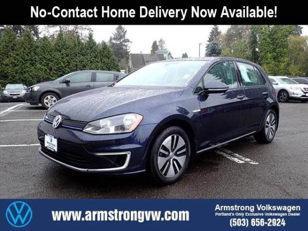 2016 Volkswagen e-Golf WVWKP7AU0GW916554