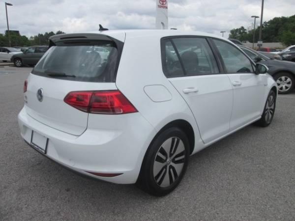 2016 Volkswagen e-Golf WVWKP7AU7GW916258