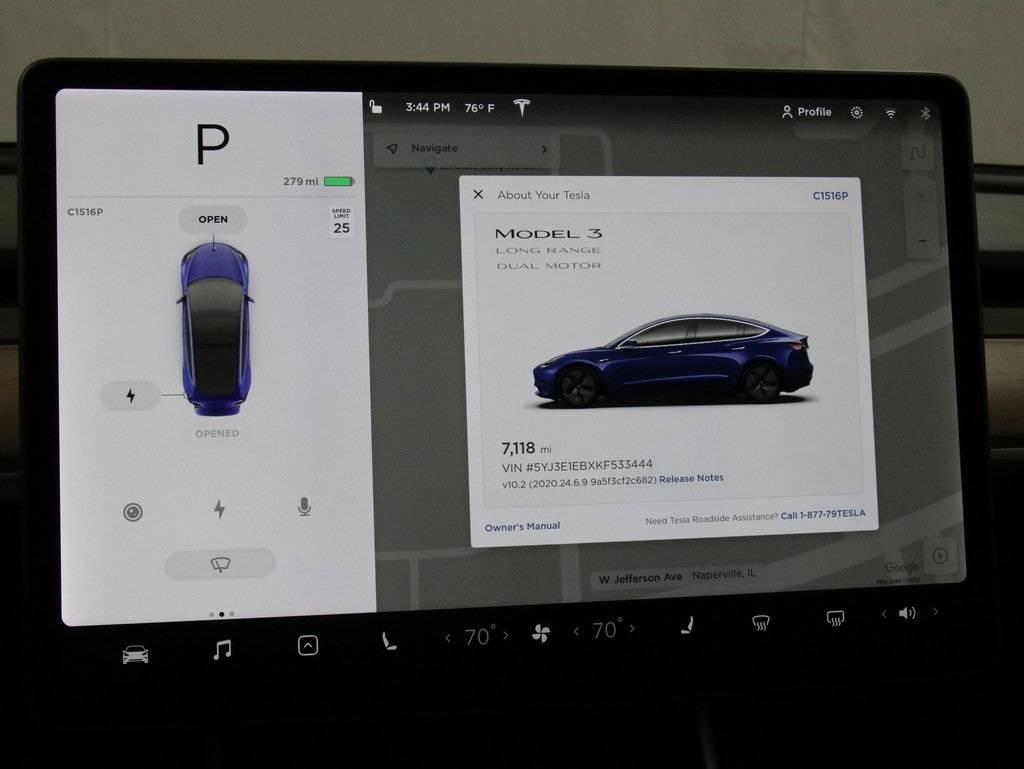 2019 Tesla Model 3 5YJ3E1EBXKF533444