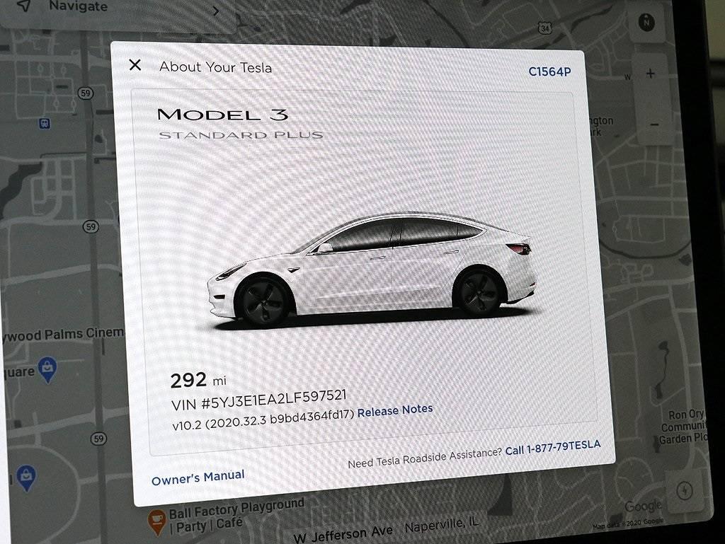 2020 Tesla Model 3 5YJ3E1EA2LF597521