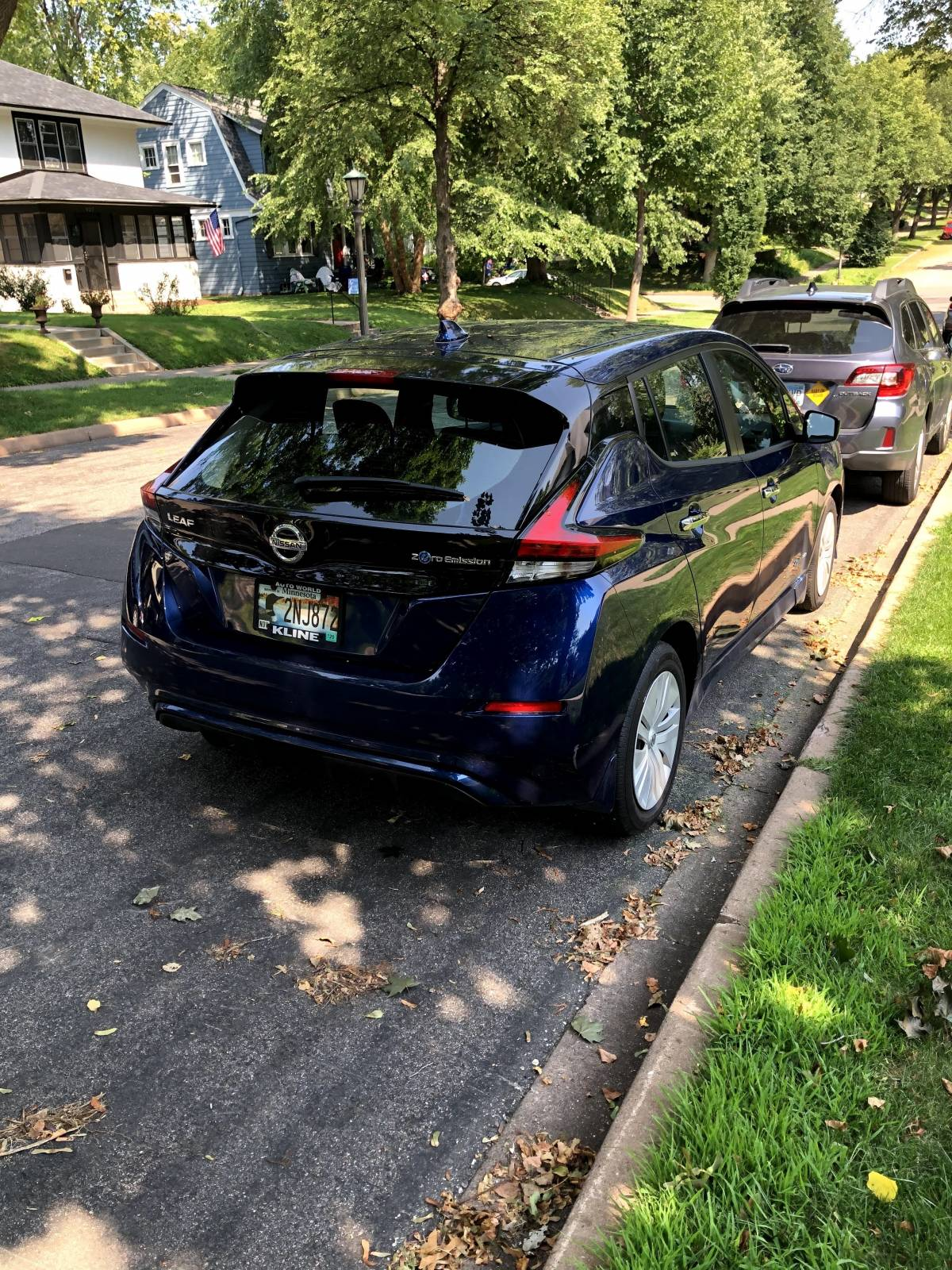 2019 Nissan LEAF 1N4AZ1CP8KC303771