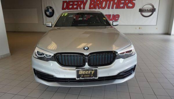 2019 BMW 5 Series WBAJB1C5XKB376219