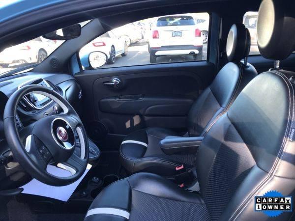 2017 Fiat 500e 3C3CFFGE6HT636635