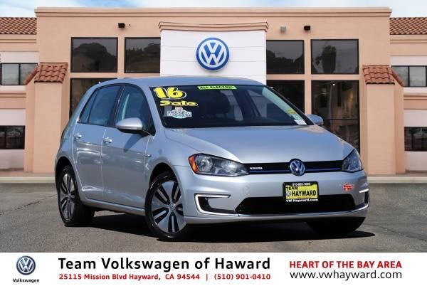 2016 Volkswagen e-Golf WVWKP7AU8GW916205