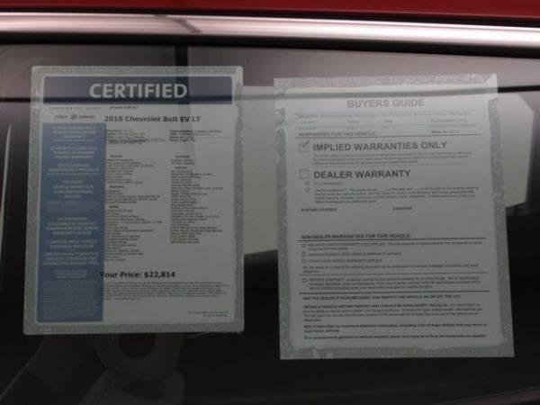 2018 Chevrolet Bolt 1G1FW6S08J4132712
