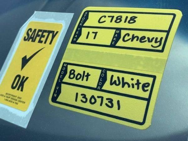 2017 Chevrolet Bolt 1G1FW6S0XH4130731