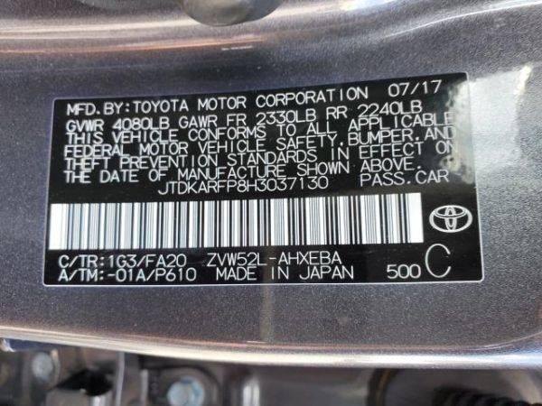 2017 Toyota Prius Prime JTDKARFP8H3037130