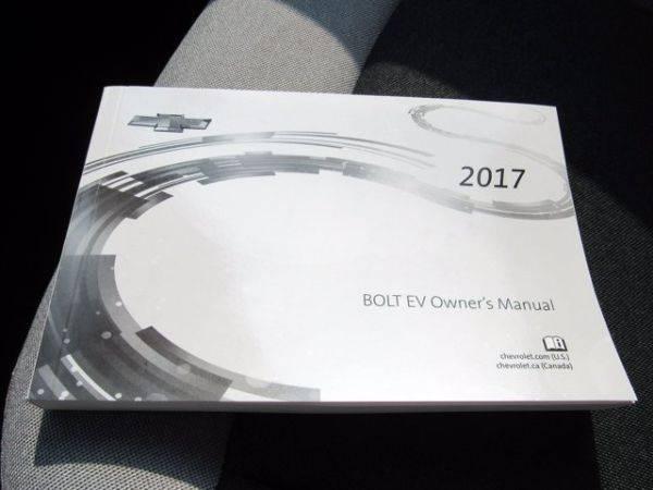 2017 Chevrolet Bolt 1G1FW6S06H4180610