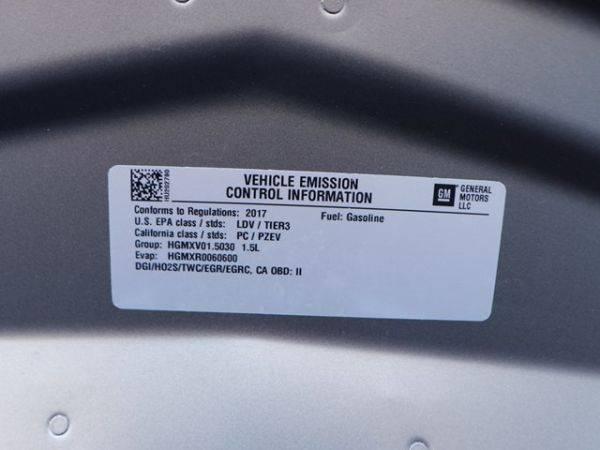 2017 Chevrolet VOLT 1G1RC6S51HU202790