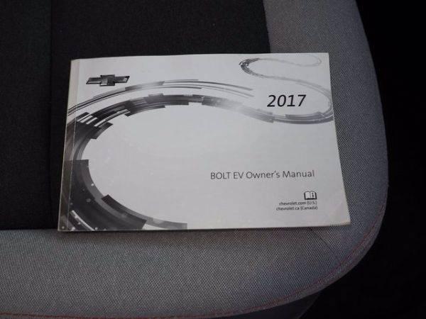 2017 Chevrolet Bolt 1G1FW6S07H4162309