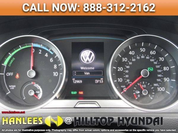 2018 Volkswagen e-Golf WVWKR7AU7JW908954