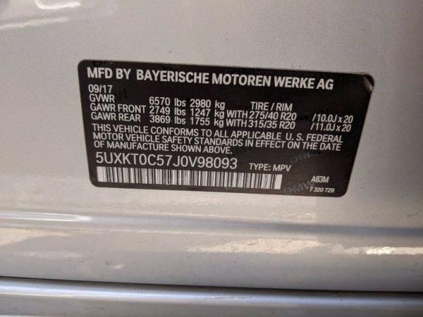 2018 BMW X5 xDrive40e 5UXKT0C57J0V98093