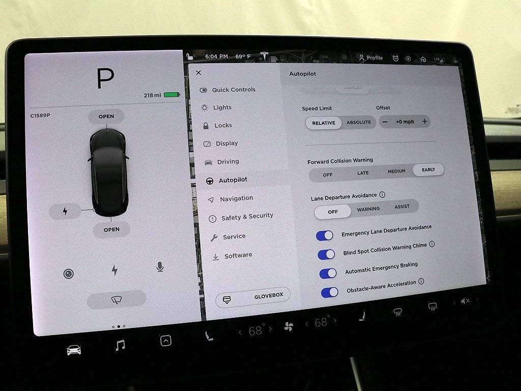 2019 Tesla Model 3 5YJ3E1EA9KF190780