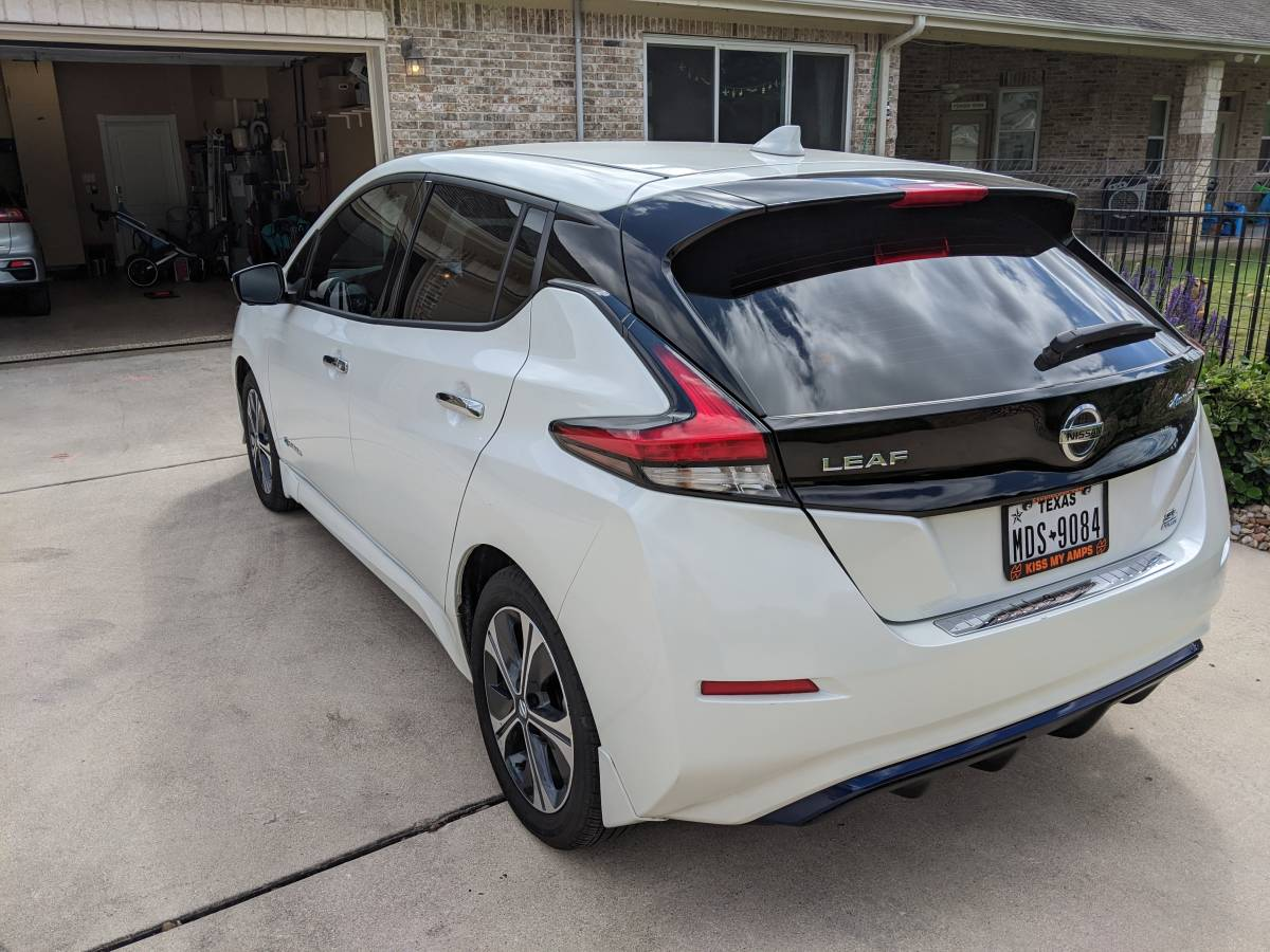 2019 Nissan LEAF Plus 1N4BZ1CP5KC313338