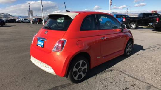 2017 Fiat 500e 3C3CFFGE6HT634366