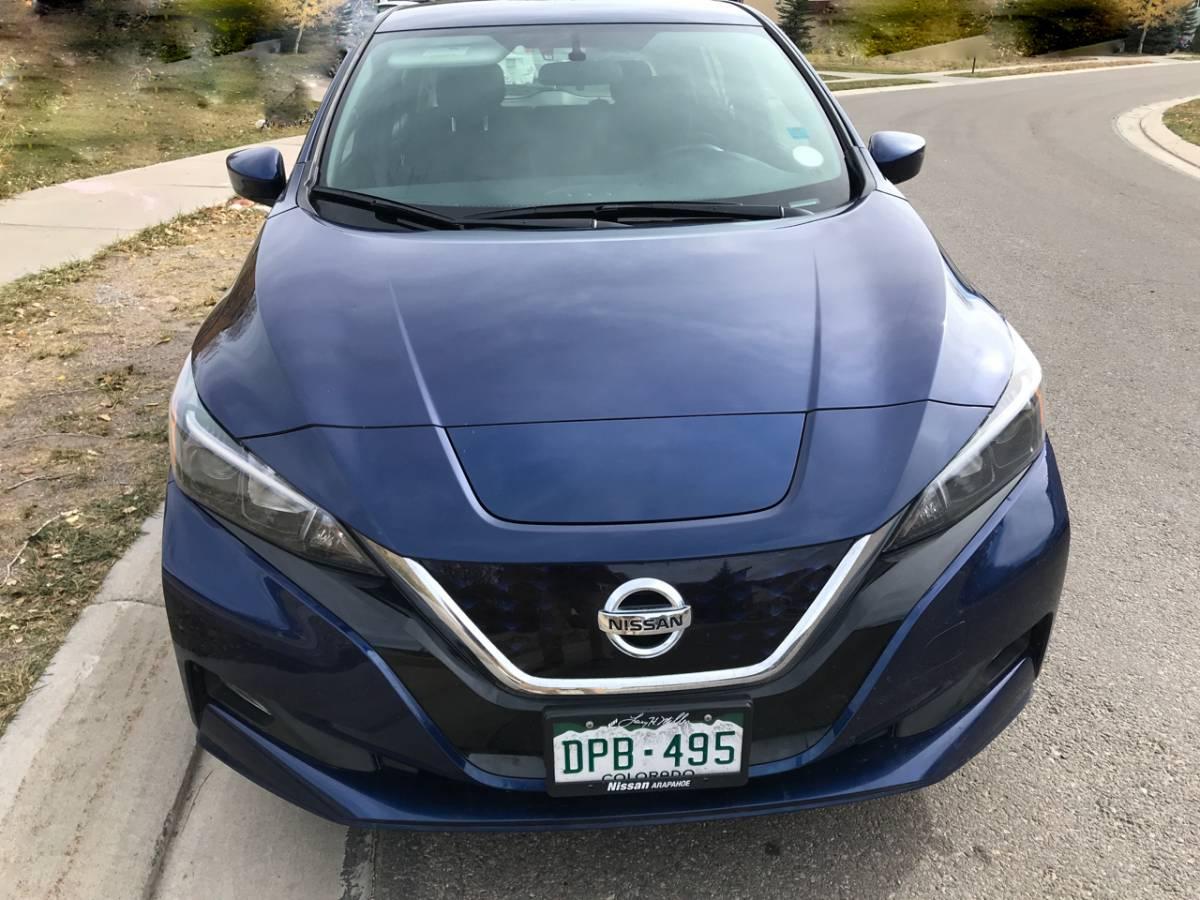 2019 Nissan LEAF Plus 1N4BZ1CP1KC318651