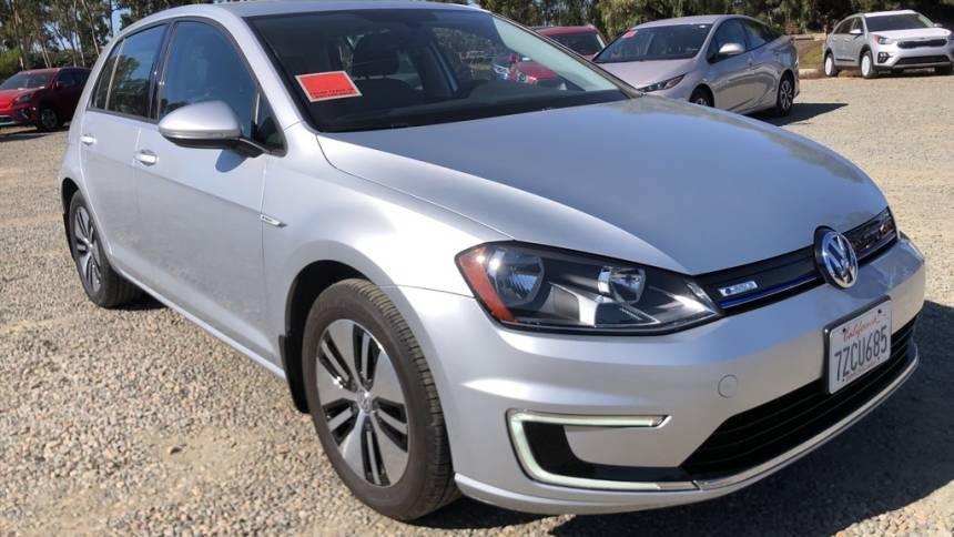 2016 Volkswagen e-Golf WVWKP7AU5GW915240