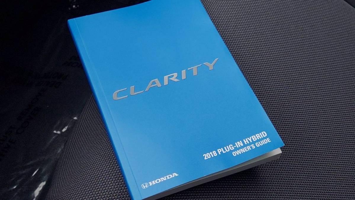 2018 Honda Clarity JHMZC5F11JC011616