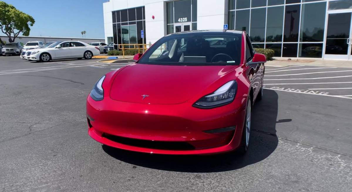 2019 Tesla Model 3 5YJ3E1EA4KF357644