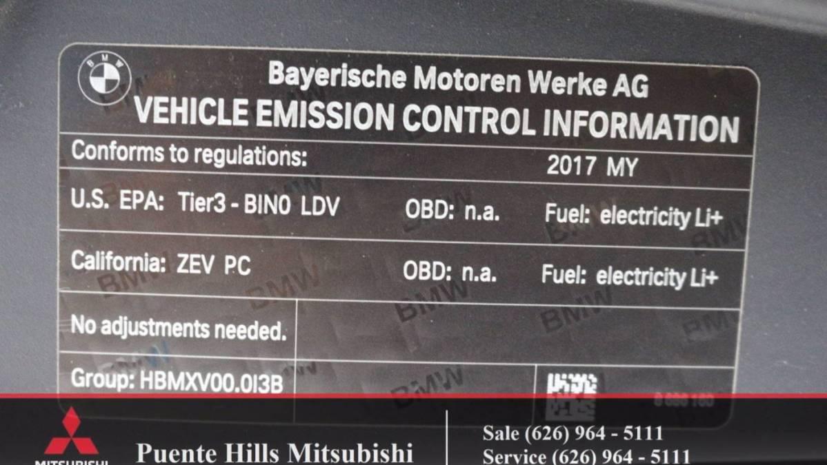 2017 BMW i3 WBY1Z6C30HV548774