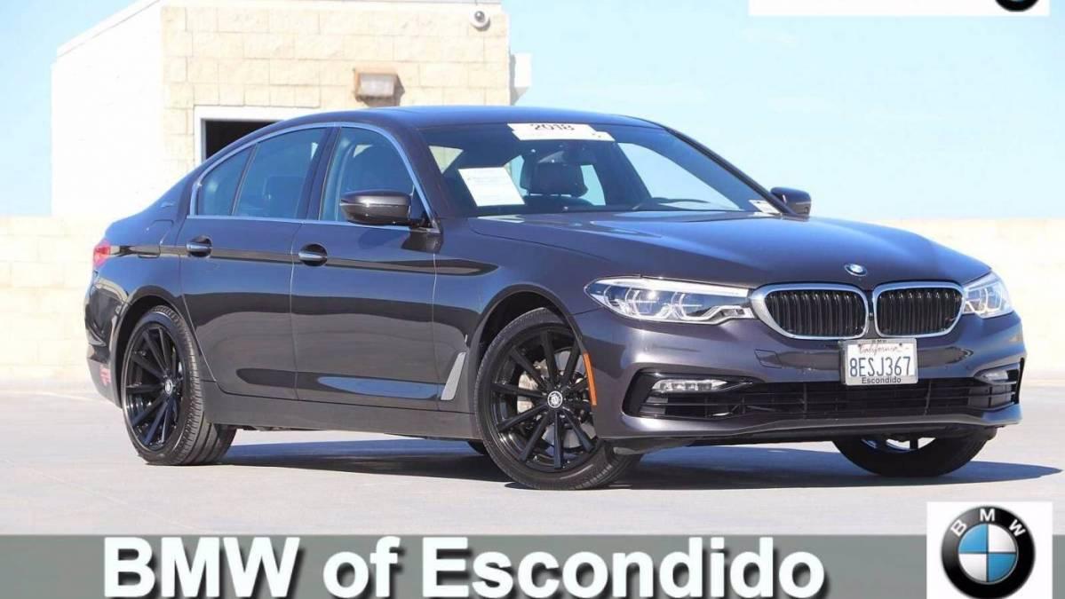 2018 BMW 5 Series WBAJB1C52JG624268