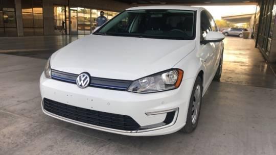 2015 Volkswagen e-Golf WVWKP7AU1FW904606