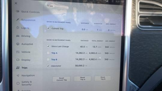 2014 Tesla Model S 5YJSA1S19EFP60499