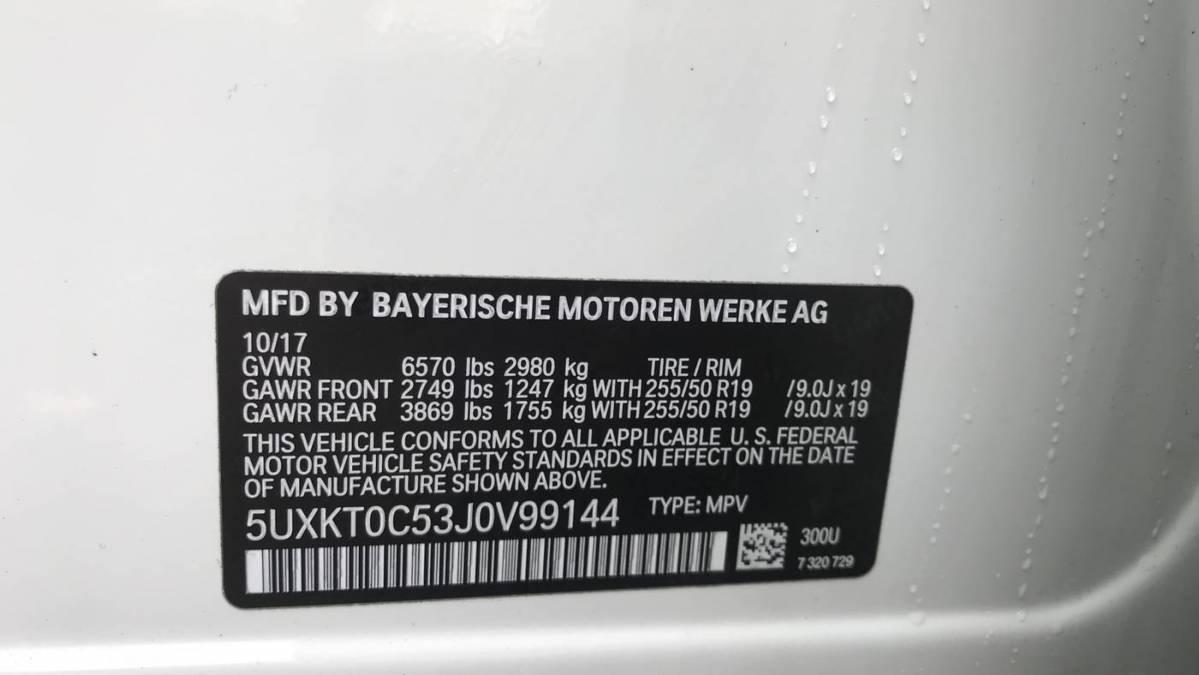 2018 BMW X5 xDrive40e 5UXKT0C53J0V99144