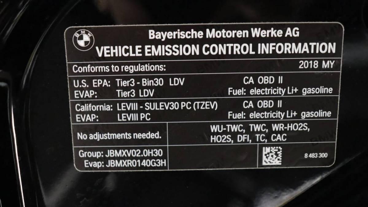 2018 BMW 5 Series WBAJA9C56JB033407