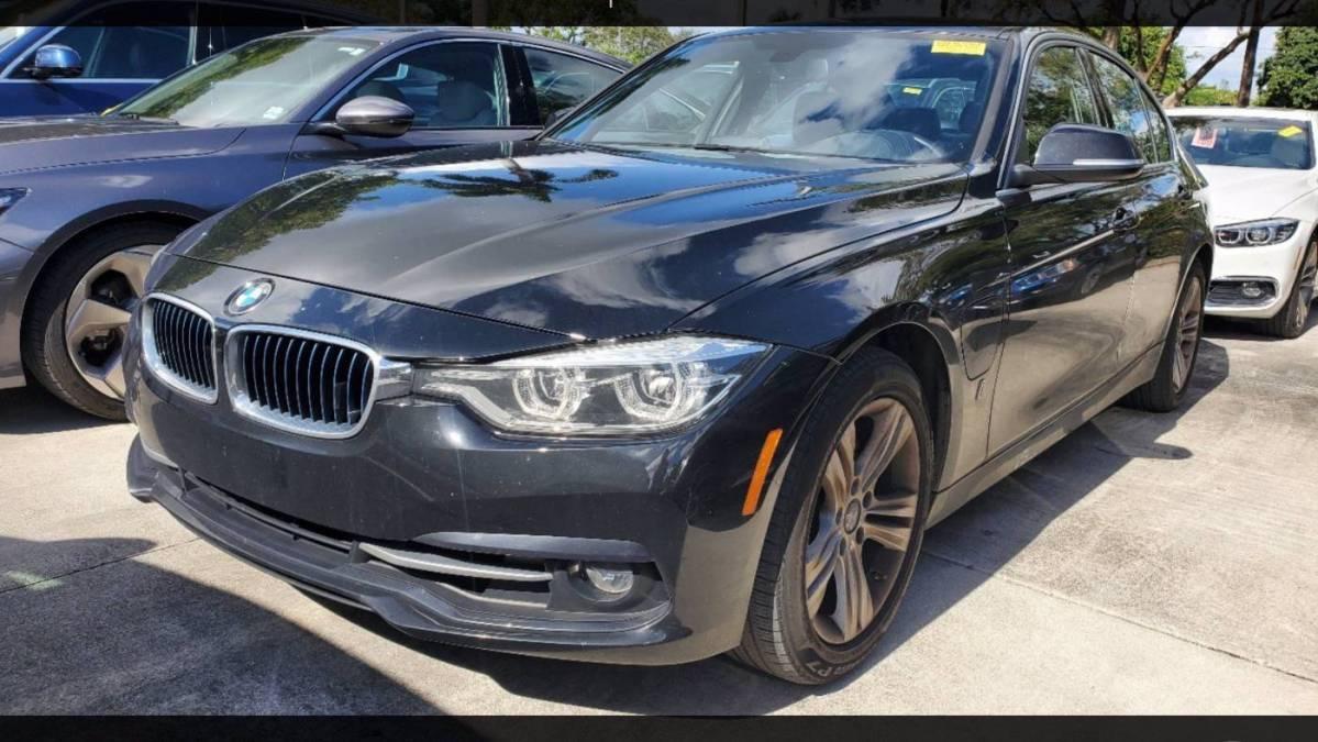 2018 BMW 3 Series WBA8E1C50JA758723