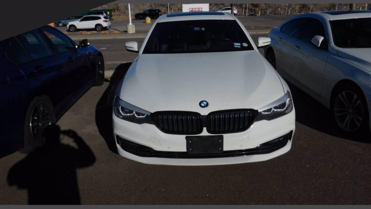 2018 BMW 5 Series WBAJB1C55JB084055