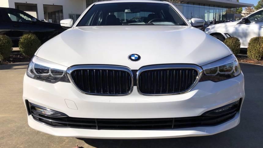 2018 BMW 5 Series WBAJB1C52JB083817