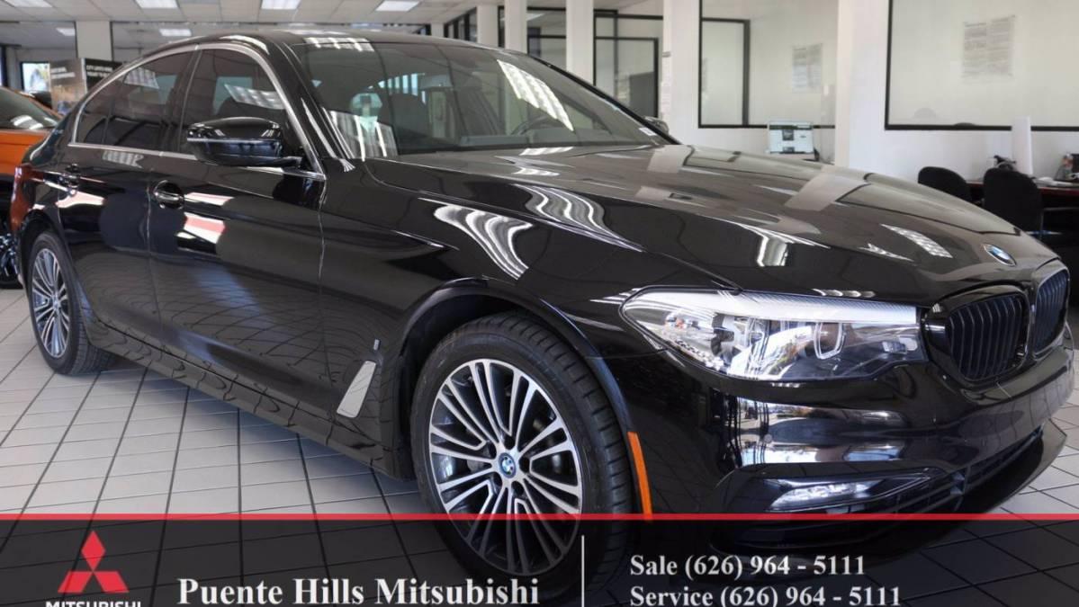 2018 BMW 5 Series WBAJA9C52JB032755