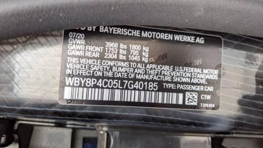 2020 BMW i3 WBY8P4C05L7G40185